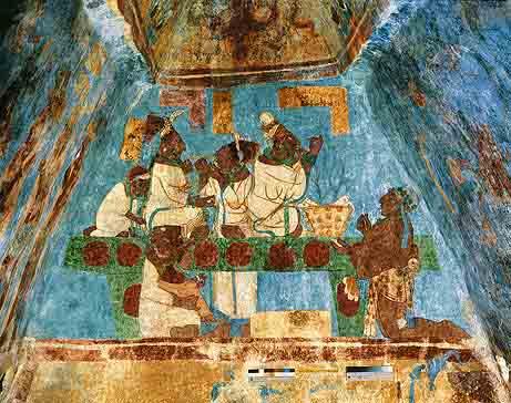 Ancient Mayan Painting & Ancient Mayan Art